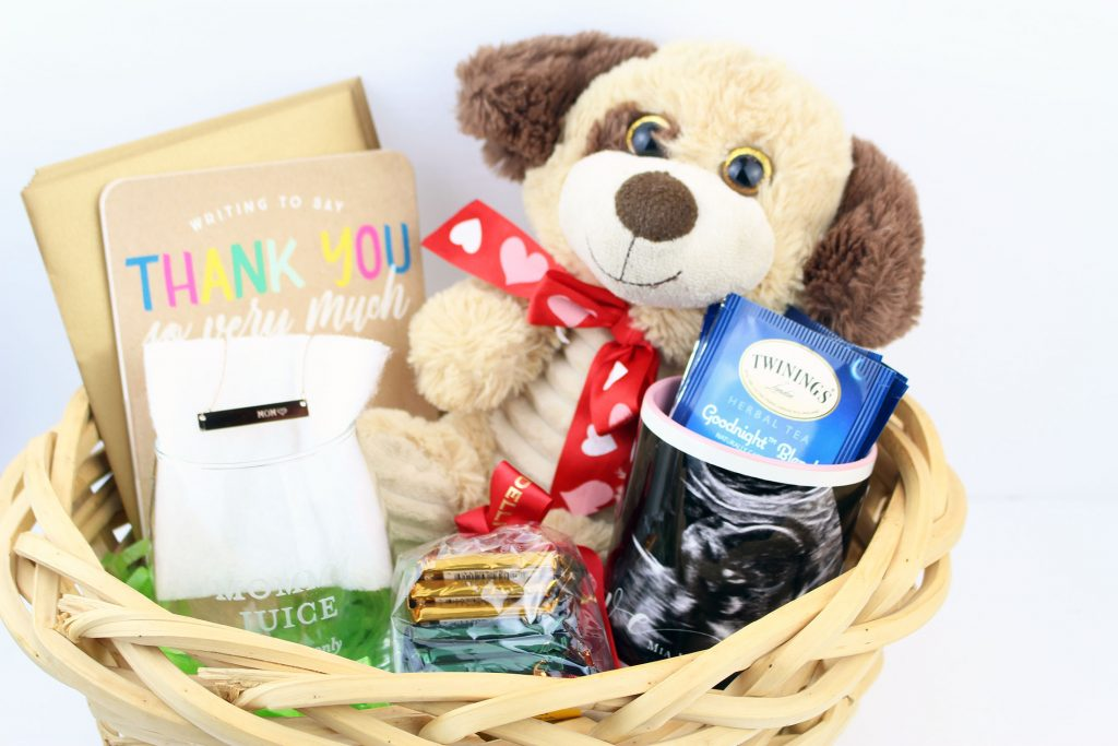 Making A Homemade Baby Gifts Basket